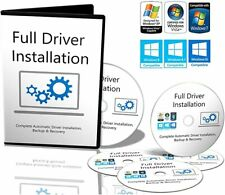Windows 7,8,10 Drivers for PC's/Laptops Recovery/Restore/Repair/Install Download