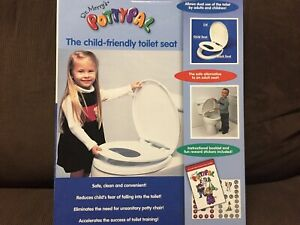 POTTYPAL CHILD TOILET SET ATTACHMENT /POTTY TRAINING MADE IN CANADA