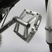 "Mountain Bike Bicycle BMX MTB Platform Pedals Aluminum Sealed Bearing 9/16"""