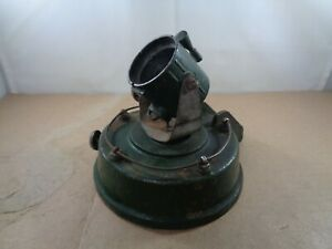 Astra Pharos Searchlight On Round Base With Steps For Restoration.Vintage Item