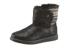 Boots, Skechers Snowboots, taille 36, imitation cuir, textile