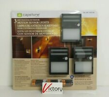 NEW Capstone 3 LED Motion Sensor Lights | Indoor/Outdoor Waterproof | 1600106