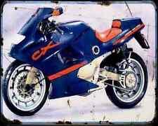 GILERA Cx125 91 2 A4 Metal Sign moto antigua añejada De