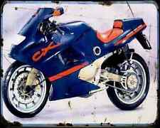 Gilera Cx125 91 2 A4 Metal Sign Motorbike Vintage Aged