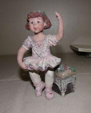 Collectible Sarah's Attic Lovely Ballerina Figurine Figure # 397/3000