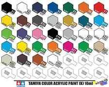 Tamiya Color 81501-81535 X1 to X35 10ml Gloss Acrylic Paint Model Paint New