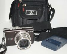 Canon PowerShot PowerShot SX200 IS 12.1MP Digital Camera - Black & Carry Case