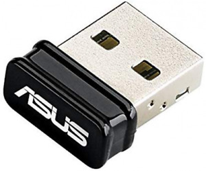 ASUS USB-N10 Wireless-N150 Nano USB Adapter, Up to 150 Mbps Wireless Data Rate,