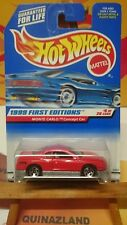 hot wheels  1999 série First Editions Chevrolet Monte Carlo collector 910 (9988)