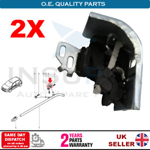 2X RENAULT MEGANE SCENIC GRAND SCENIC EXHAUST RUBBER HANGER MOUNT MIDDLE BRACKET