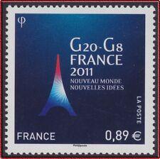 2011 FRANCE N°4575**  G20 - G8 PRESIDENCE FRANCAISE en 2011 MNH