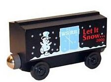 Whittle Shortline CLEARANCE! 2006 Christmas Let It Snow boxcar Thomas/Brio XRARE