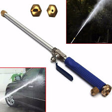 Aluminium High Pressure Power Car Clean Washer Spray Nozzle Water Gun Hose 46cm