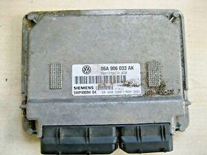 VW Beetle 1.6 8v AYD Code Engine ECU 06A906033AK 5WP4009404