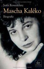 Mascha Kaléko: Biografie von Rosenkranz, Jutta | Buch | gebraucht
