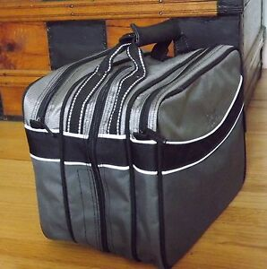 Small zipper tote bag Tool bag Luggage Carry on Gym Bag Empty Justin Case Bag