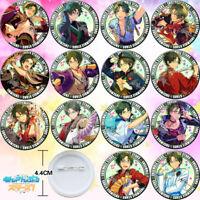 14PCS Anime Ensemble Stars Hasumi Keito Badge Itabag Pin Button Holiday Gift