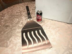 HUGE BIG OVERSIZED CHAR-BROIL SPATULA WITH INSTRUCTIONS