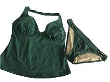 Victoria Secret Push Up Tankini Bathing Suit Swim Suit Set 34DD L