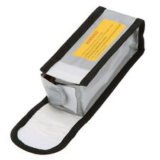 15*6.4*5cm Silver Glass Fiber RC LiPo Battery Safety Bag Guard Charge Sack A9G7