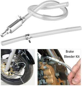 Motorcycle Car Brake Bleeder Clutch Bleeding Tool One Way Valve & Tube Hose Kit