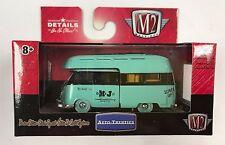 M2 MACHINES 1:64 M&J MiJo Toys 1959 Volkswagen VW Double Cab Camper Truck