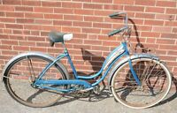 "Vintage Schwinn Starlet III 26"" Bicycle Blue"