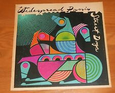 Widespread Panic Street Dogs Poster 2-Sided Flat Square Promo 12x12