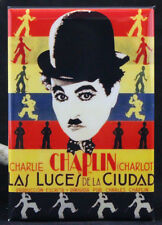"""Las Luces De La Ciudad Movie Poster 2"""" X 3"""" FridgeMagnet. Charlie Chaplin"""