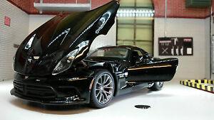 G 1:24 Scale Black Chrysler Dodge Viper SRT 2013 GTS Maisto Diecast Model Car