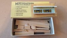 Vintage Walthers Northeastern Scale models B&O HG-3 Cushion Coil Car
