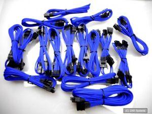 Corsair CP-8920003 Modular Kabel Set für AX1200 Netzteil, Cables Blue, Blau, NEU