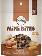 Nutro Mini Bites Peanut Flavor Dog Treats Healthy Dog Food - 8 Ounces - FreeShip