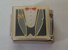 9mm Clasic Size Italian Charm E98 Wedding Food Dinner Jacket  Tuxedo