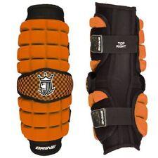 Brine LoPro Superlight Orange Lacrosse Arm Guard Medium