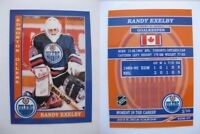 2015 SCA Randy Exelby Edmonton Oilers goalie never issued produced #d/10