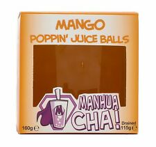 Manhua Cha Mango Popping Juice Balls - Bubble Tea Gift