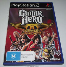 Guitar Hero Aerosmith PS2 PAL *Complete*