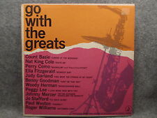 33 RPM LP Record Go With The Greats Chevrolet & NARAS 1962 Perry Como Nat Cole