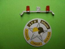 MINITRUCKS 1/50 BARRE DE TOIT SUPPORT +  2 GYROPHARES 5 mm