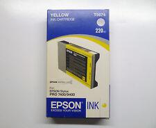 Original Epson t5674 Jaune Stylus Pro 7400 9400 --- NEUF dans sa boîte 08/2008