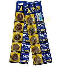 5 x Pile Piles Bouton Lithium batterie CR 2025 CR2025