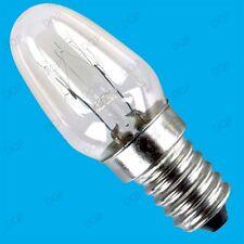 2x 7W E14 SES MINIATURE LIGHT BULBS  L=53mm,W=22mm,Screw Diameter 14mm,MINI LAMP