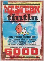 TINTIN n°918 du 26 mai 1966. Couverture Tintin Western. TB