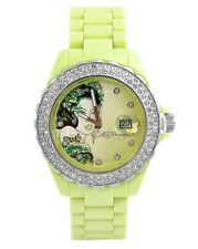 ED HARDY BY CHRISTIAN AUDIGIER ROXXY RX-LG LADIES JAPAN MOVEMENT CRYSTAL WATCH
