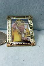 WILLABEE & WARD PIN THE POPE URBI ET ORBI MESSAGE DECEMBER 2002