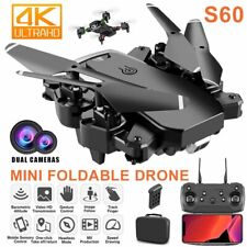 S60 Faltbar Quadrocopter RC Drohne mit 4K 2.4G WIFI HD FPV Dual Kamera Geschenk