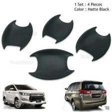 2017 Door Handle Bowl Insert Cover Matte Black Trim Fits Toyota Innova Crysta