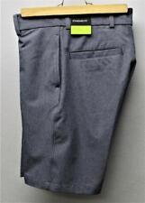 New Boys Nike Golf Flex polyester spandex golf shorts Size Small grey