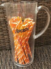 � Aperol Spritz Pitcher New Plastic Jug Orange Cocktail Prosecco Drink Bar Pool